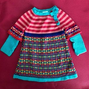 Hanna Andersson Knit Dress Size 70 (6-12 months)